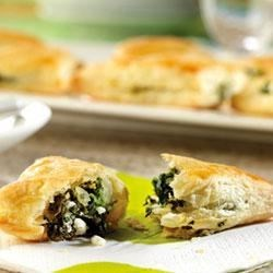 Spinach and Feta Mini-Calzones Recipe