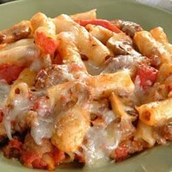 Photo of Baked Ziti With Italian Sausage by Buitoni®