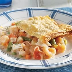 Seafood Pot Pie Recipe