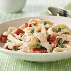 Photo of Quick Pasta Carbonara by PHILADELPHIA Cream Cheese
