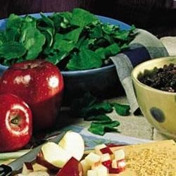 Photo of Spinach-Apple Salad by Southern Living magazine