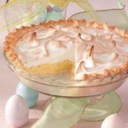 Photo of Pineapple Sour Cream Pie by P Lauren Fay-Neri