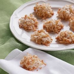 Photo of Crunchy Macaroons by Taste of Home Test Kitchen