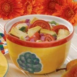 Photo of Marinated Artichoke Salad by Ann Marie  Petri