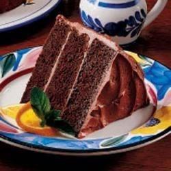 Photo of Sour Cream Chocolate Cake by Marsha  Lawson