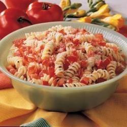 Photo of Tomato Spiral Toss by Nichole  Lynch