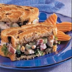 Photo of Waldorf Turkey Sandwiches by Meghan  Bodas