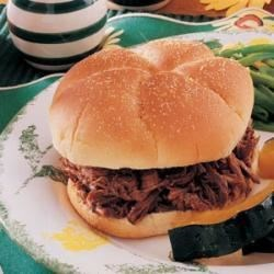 Photo of Dilly Beef Sandwiches by Donna  Blankenheim