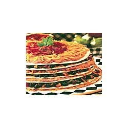 7-Layer Meatless Tortilla Pie Recipe