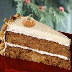 Photo of Pumpkin Cake with Cream Cheese Frosting by Maker of SPLENDA® Sweetener Products