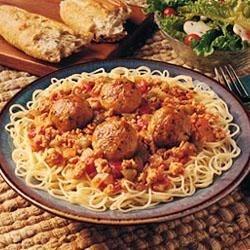 Easy Chicken Meatballs Recipe