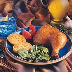 Herb Roasted Chicken Dinner Recipe