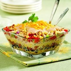 Southwestern Chicken & Cornbread Salad Recipe