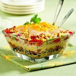 Southwestern Chicken & Cornbread Salad Recipe
