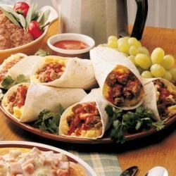 Photo of Zesty Breakfast Burritos by Angie  Ibarra
