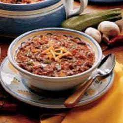 Photo of Slow-Cooked Chili by Sue  Call