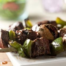 Photo of Savory Grilled Beef Kabobs by Campbell's Kitchen