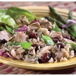 Photo of Chicken, Cherry and Wild Rice Salad by The Cherry Marketing Institute