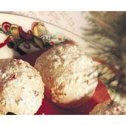 Peppermint Snowball Cookies   Recipe