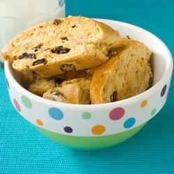 Almond-Raisin Biscotti