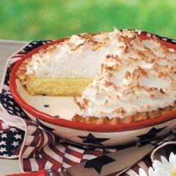 coconut cream meringue pie printer friendly