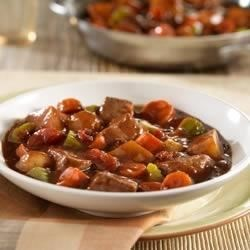 Heartwarming Beef Stew Skillet Recipe
