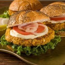 Photo of BUSH'S® Pumpkin Bean Burgers by Sarah Kohley