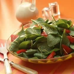 Spinach Salad with BACARDI(R) Limon Sauce Recipe