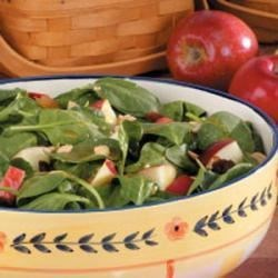 Photo of Apple Peanut Spinach Salad by Ali Lowell
