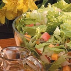 Photo of Apple-Cheddar Tossed Salad by Amy Osborne-Schebler