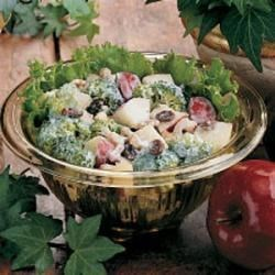 Photo of Broccoli Apple Salad by Vera  Schmidt