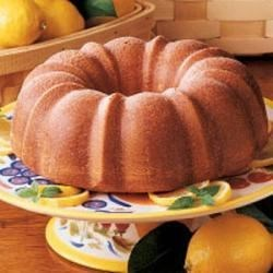 Photo of Glazed Lemon Bundt Cake by John  Thompson