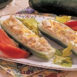 Photo of Cucumber Tuna Boats by Mildred  Stubbs