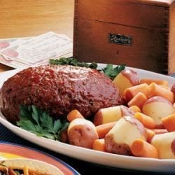 Photo of Slow-Cooked Meat Loaf by Marna  Heitz