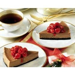 Photo of Black Forest Chocolate Cheesecake by EAGLE BRAND®