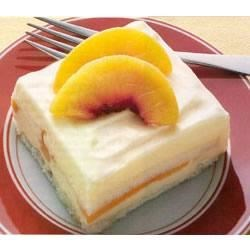 Peaches and Cream Cake by EAGLE BRAND(R) Recipe