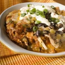 Pam's Chicken Enchilada Casserole Recipe