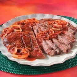Sliced Steak Pizzaiola Recipe