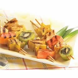 Rum Ba Fruit Skewers Recipe