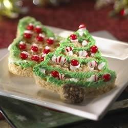 Photo of Kellogg's® Rice Krispies Treats® Christmas Trees by Kellogg's® Rice Krispies®