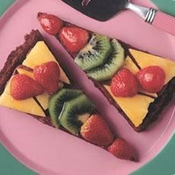 Double Chocolate Fruit Tart
