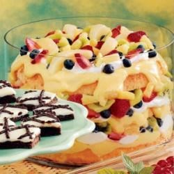 fruity angel food trifle review by amanda machmiller kiner