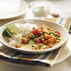 Photo of Vegetarian Sweet Potato and Chickpea Curry by Dairy Farmers of Canada Real Cream
