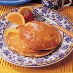 Photo of Sunrise Orange Pancakes by Dorothy Smith