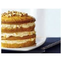 Photo of Luscious Four-Layer Pumpkin Cake by Cool Whip®