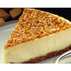 almond praline cheesecake printer friendly