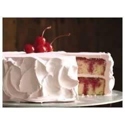 Photo of Black Cherry JELL-O Poke Cake by JELL-O