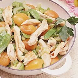 Photo of Chicken and Apricot Saute by Carolyn  Griffin