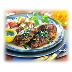 Southwestern Grilled Chicken with Lime Butter Recipe