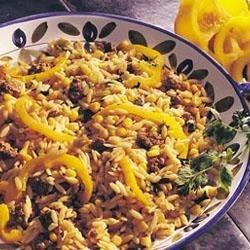 Cilantro Orzo and Beef   Recipe